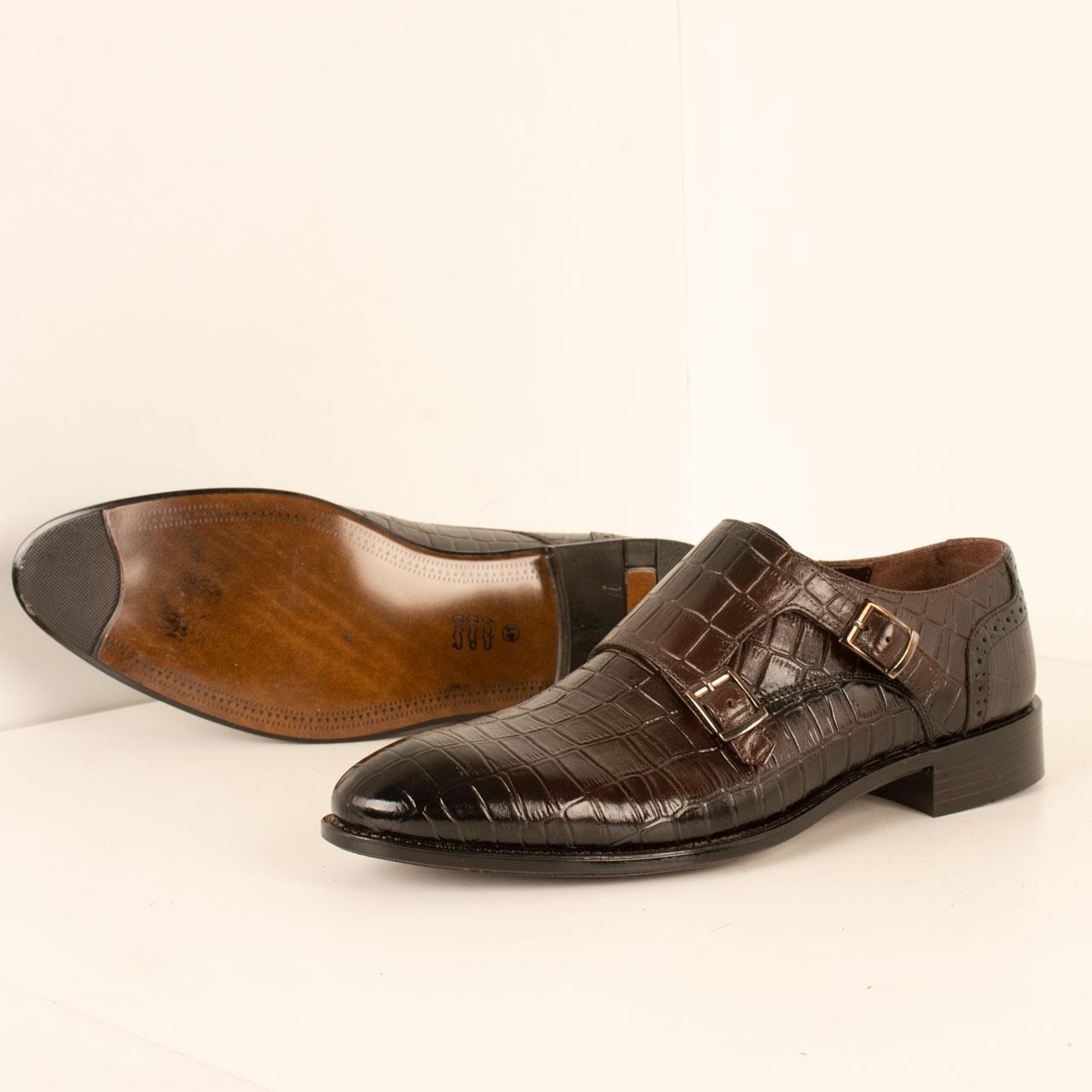 خرید                                     کفش مردانه پارینه چرم مدل SHO203