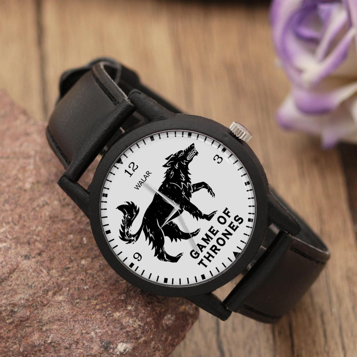 کد تخفیف                                      ساعت مچی عقربه ای والار طرح گیم آف ترونز کد LF2049
