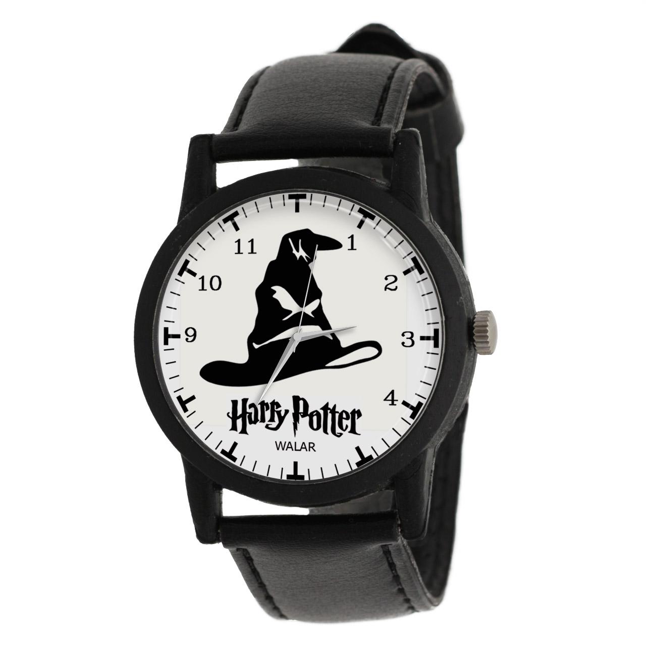 کد تخفیف                                      ساعت مچی عقربه ای والار طرح هری پاتر کد LF2057