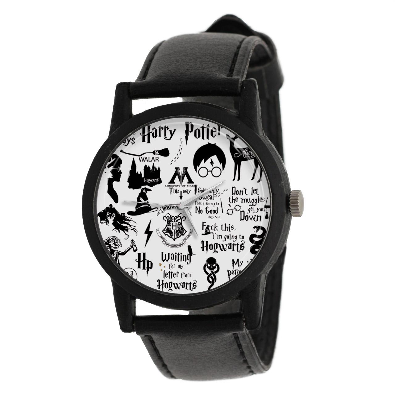 کد تخفیف                                      ساعت مچی عقربه ای والار طرح هری پاتر کد LF2067