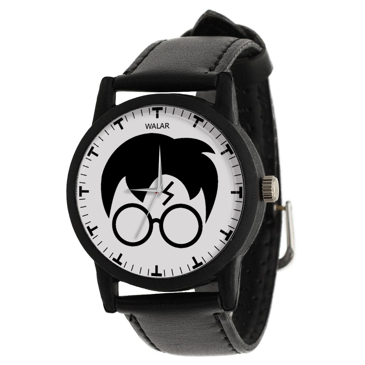 کد تخفیف                                      ساعت مچی عقربه ای والار طرح هری پاتر کد LF2070