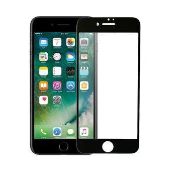 محافظ صفحه نمایش شیشه ای مدل 5D Tempered مناسب برای گوشی موبایل آیفون 6/6s Plus