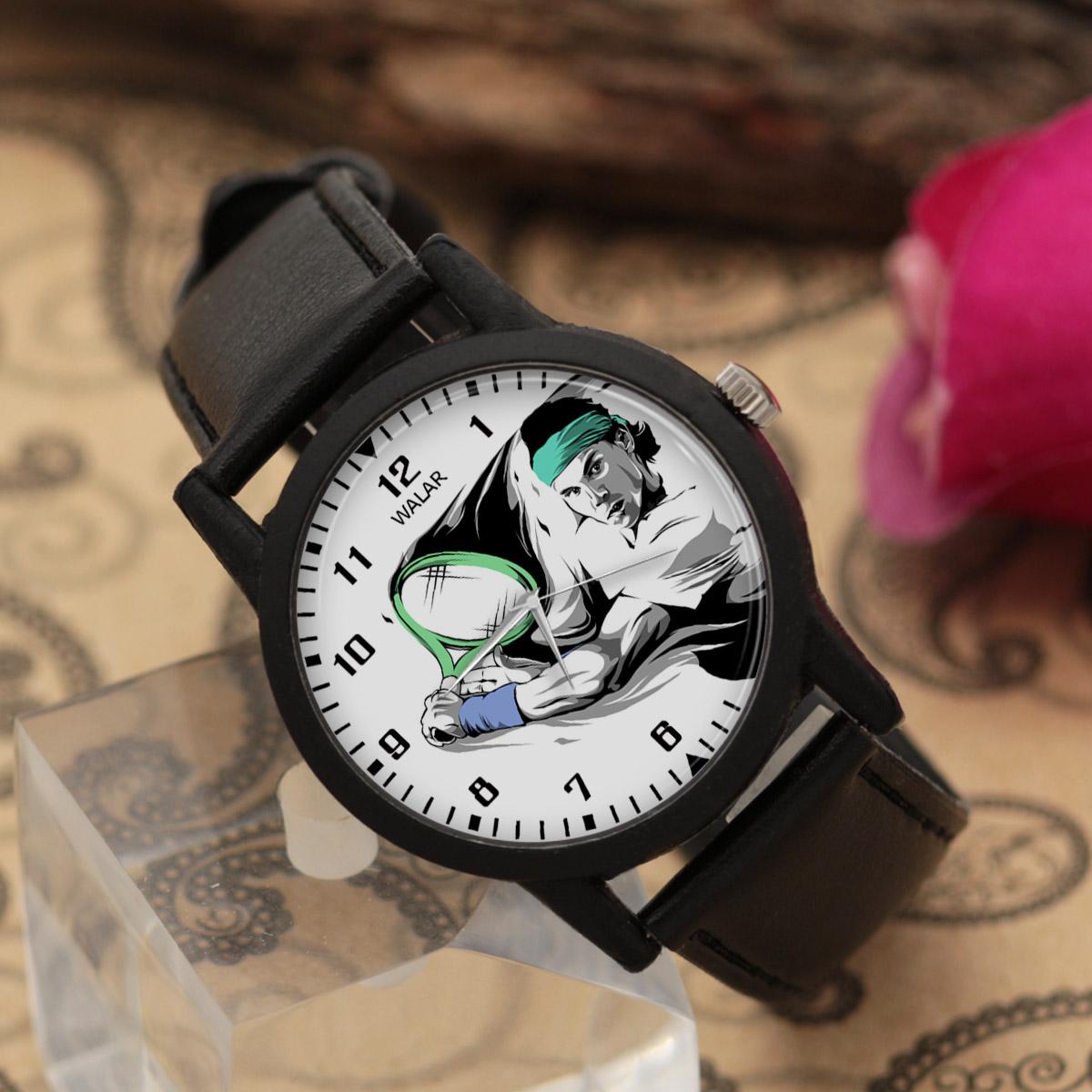 ساعت مچی عقربه ای والار طرح رافائل نادال کد LF2095