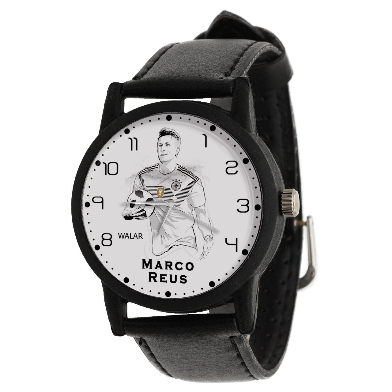 کد تخفیف                                      ساعت مچی عقربه ای مردانه والار طرح مارکو رویس کد LF2110