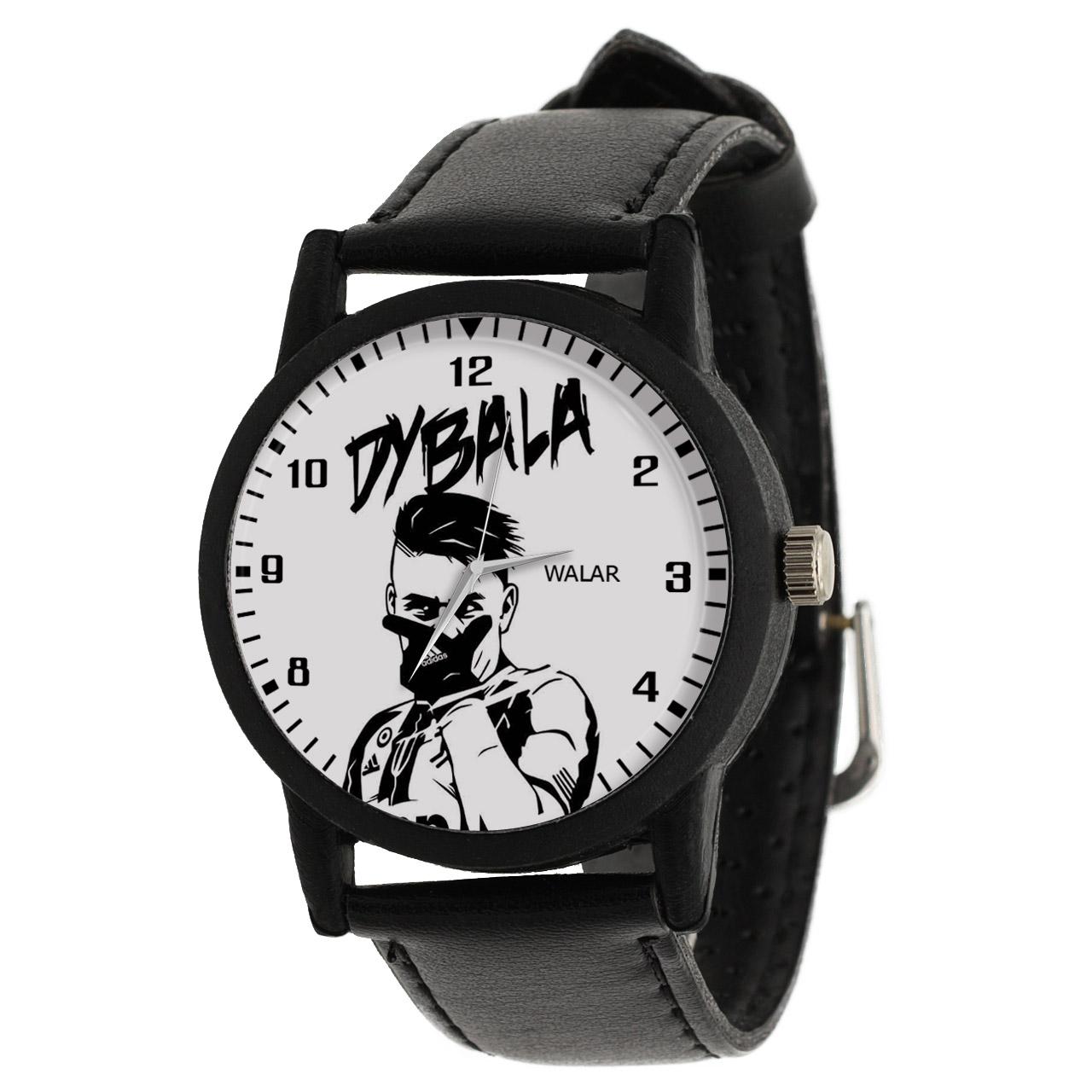 ساعت مچی عقربه ای مردانه والار طرح پائولو دیبالا کد LF2119