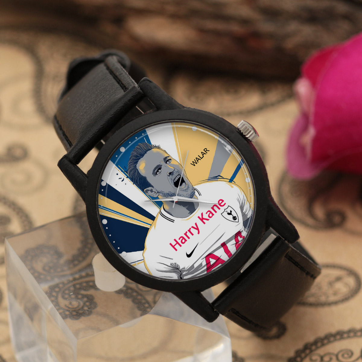 کد تخفیف                                      ساعت مچی عقربه ای مردانه والار طرح هری کین کد LF2122