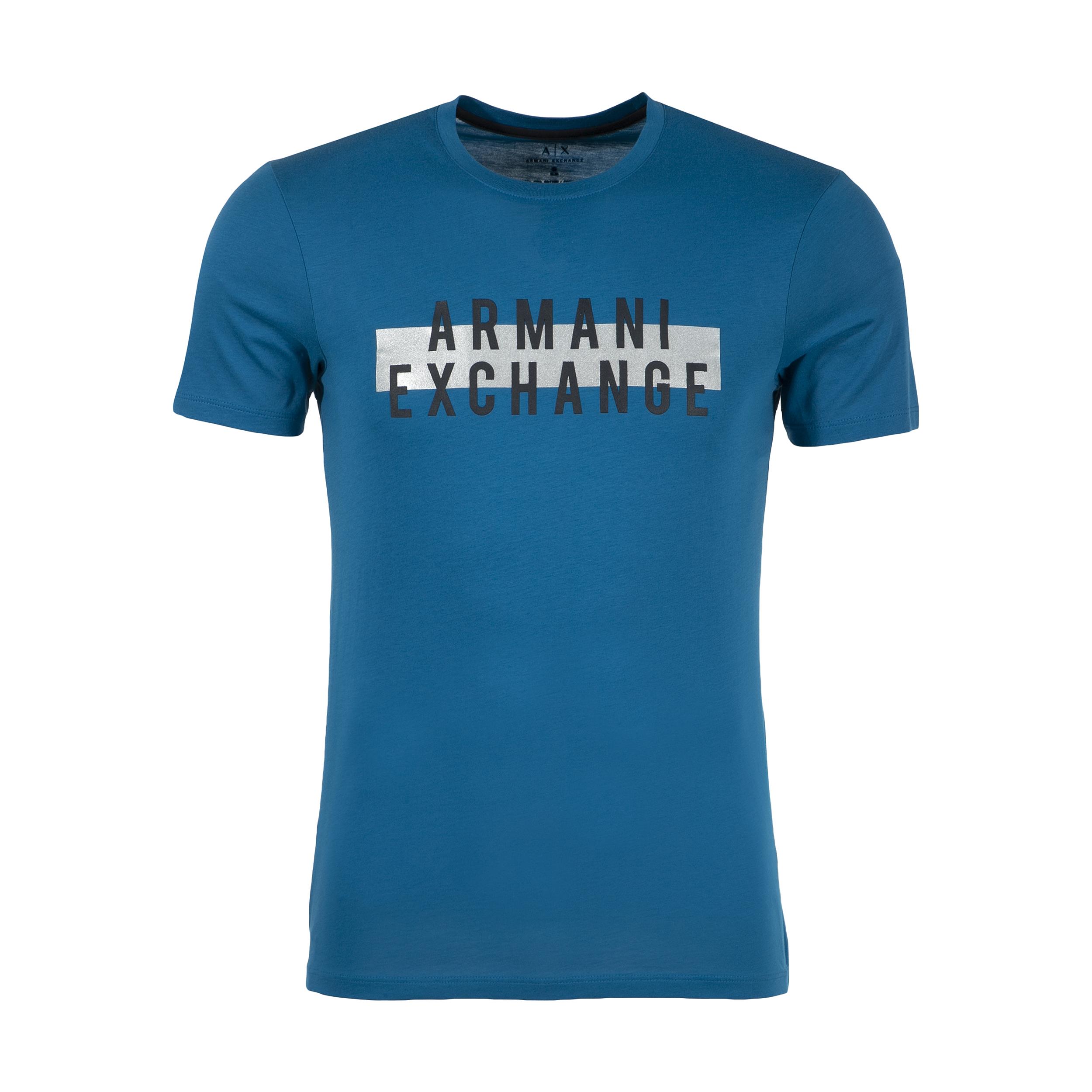 تی شرت مردانه آرمانی اکسچنج مدل 3ZZTDGZJA5Z-1544