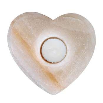 جاشمعی سنگ نمک طرح قلب کد SAH01