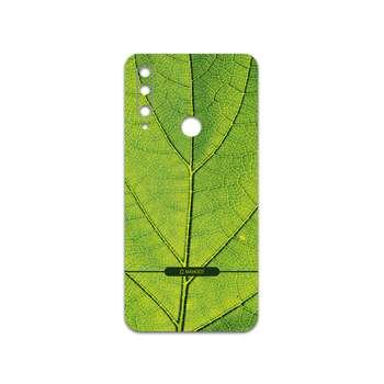 برچسب پوششی ماهوت مدل Leaf-Texture مناسب برای گوشی موبایل آنر 9X
