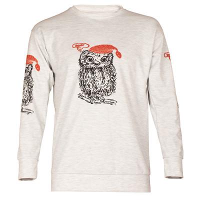 تی شرت آستین بلند زنانه طرح جغد کد TZ-3003
