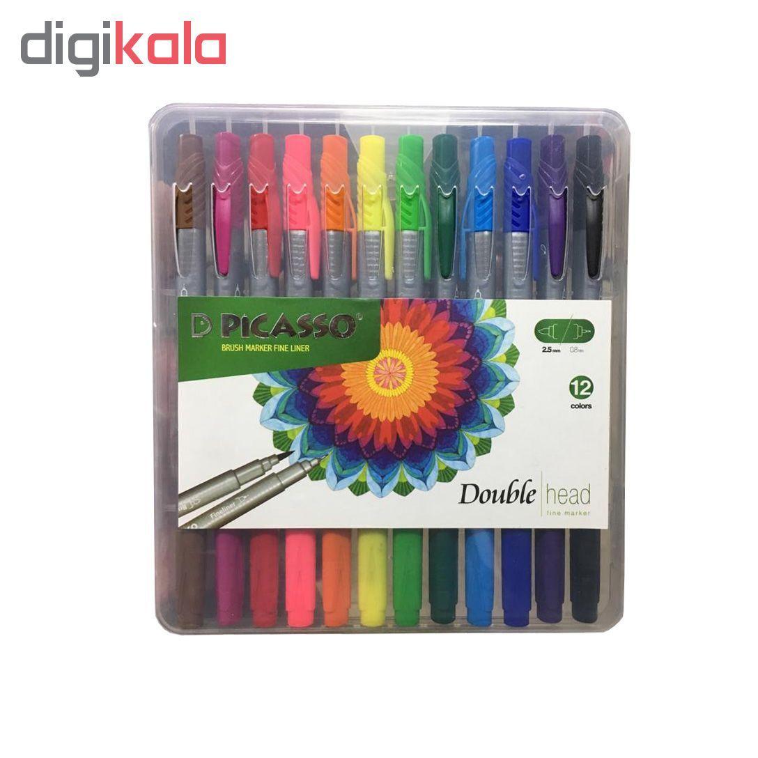 روان نویس پیکاسو مدل Brush Marker Fine Liner main 1 6