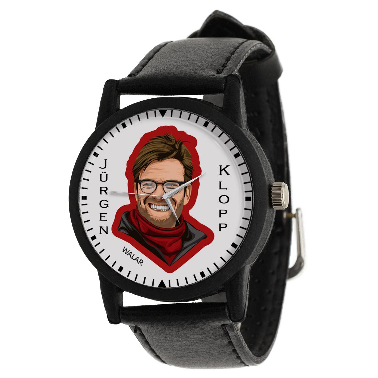 ساعت مچی عقربه ای مردانه والار طرح یورگن کلوپ کد LF2130              ارزان