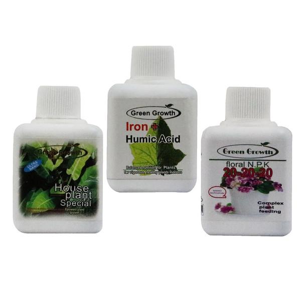 پک کود مایع مخصوص گیاهان آپارتمانی گرین گروت