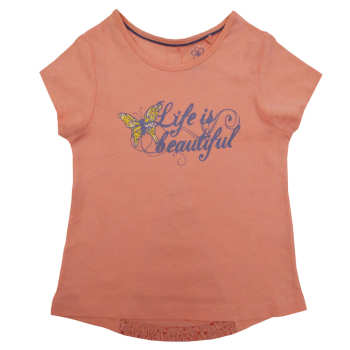 تی شرت دخترانه لوپیلو کد GP-01