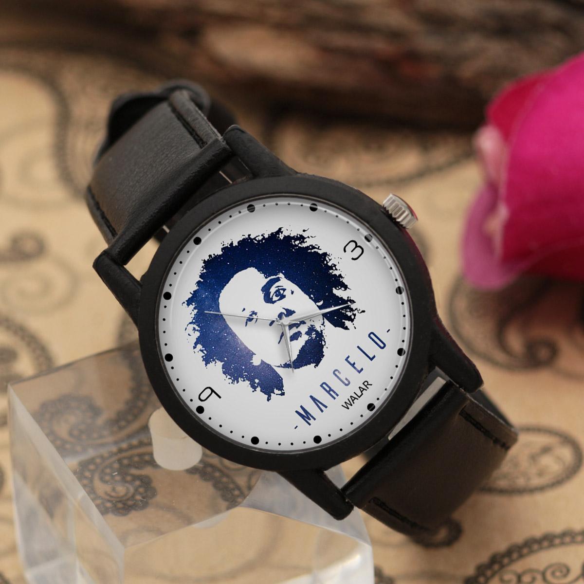 کد تخفیف                                      ساعت مچی عقربه ای مردانه والار طرح مارسلو کد LF2146