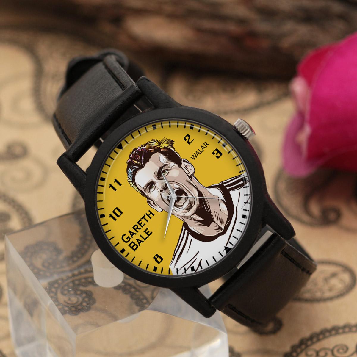 کد تخفیف                                      ساعت مچی عقربه ای مردانه والار طرح گرت بیل کد LF2150