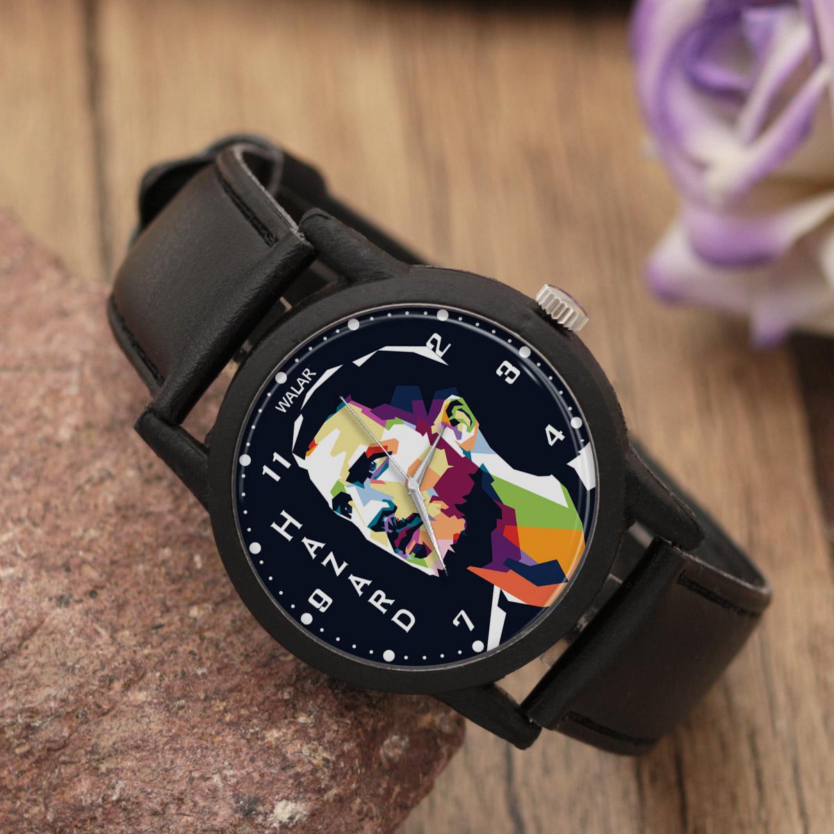 کد تخفیف                                      ساعت مچی عقربه ای مردانه والار طرح ادن هازارد کد LF2162