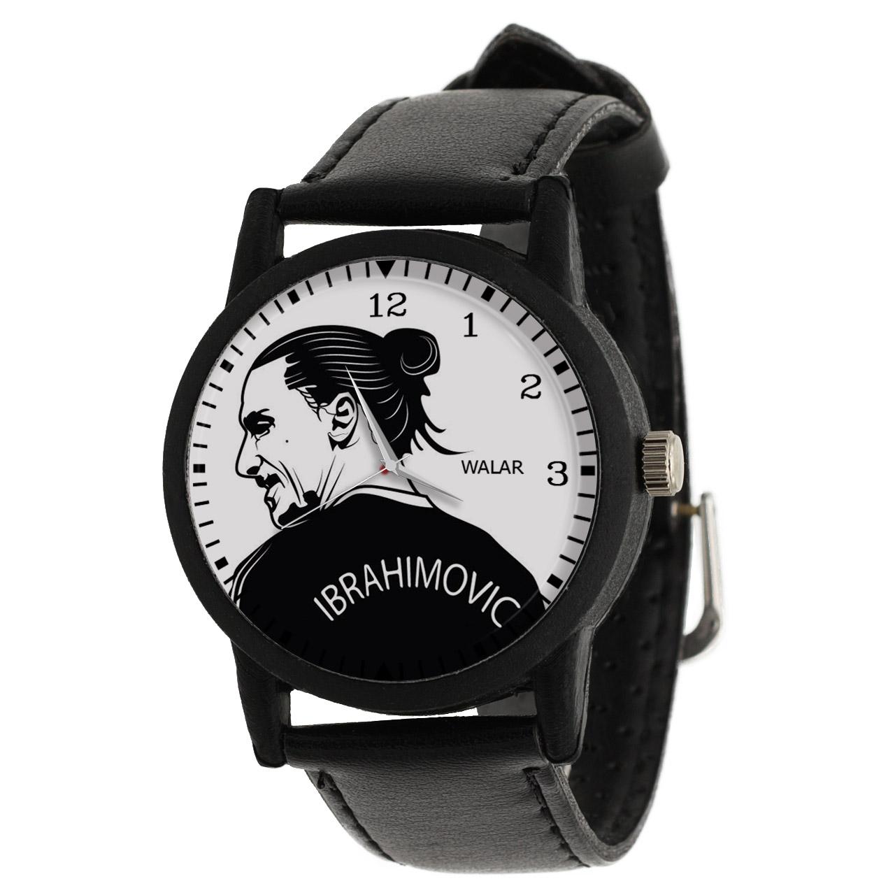 کد تخفیف                                      ساعت مچی عقربه ای مردانه والار طرح ابراهیموویچ کد LF2171