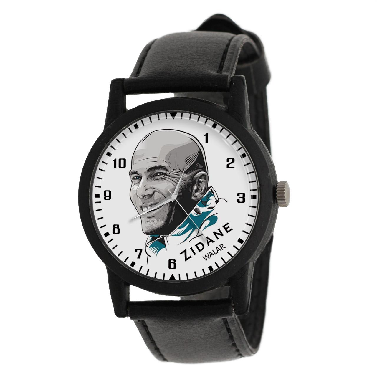 کد تخفیف                                      ساعت مچی عقربه ای مردانه والار طرح زیدان کد LF2173