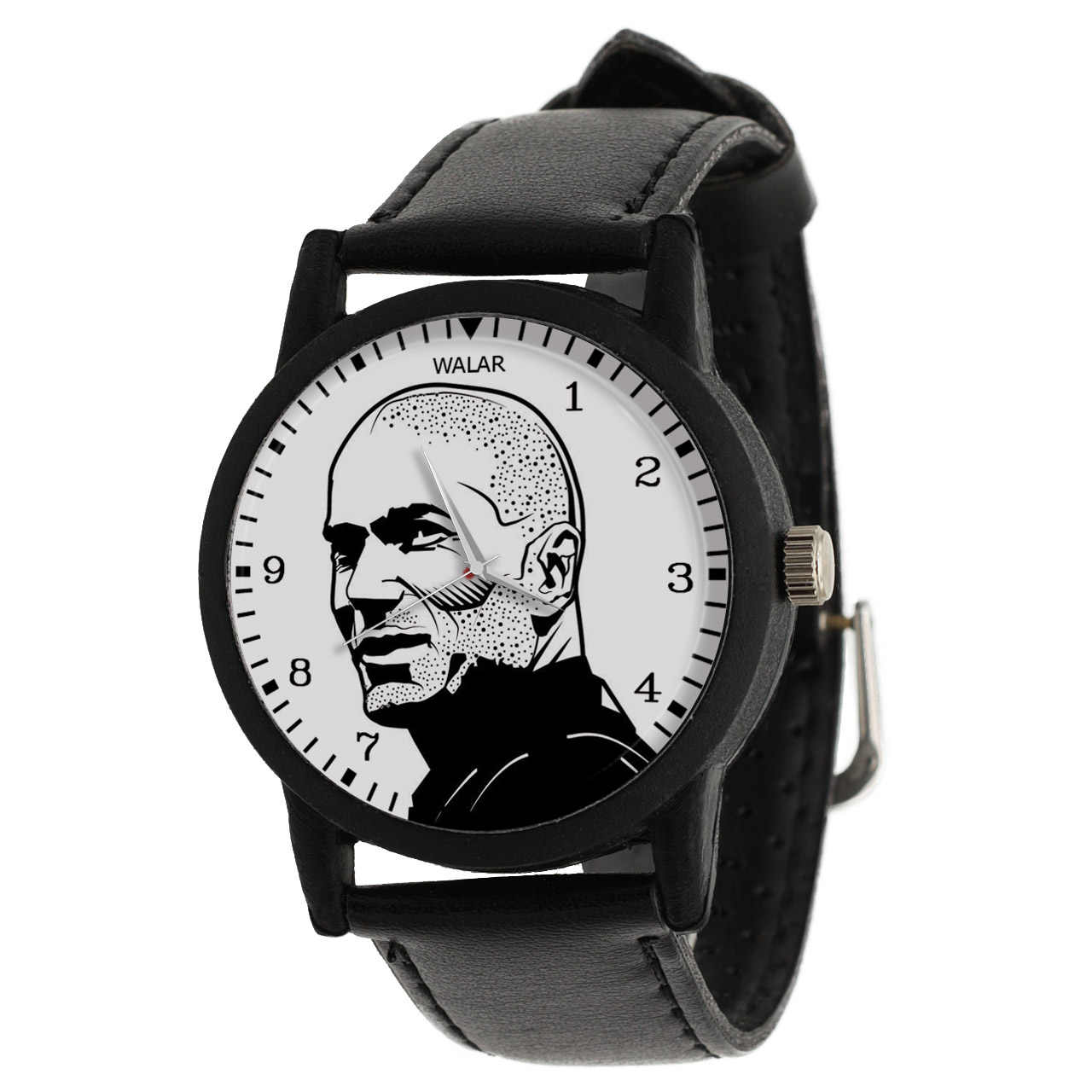 کد تخفیف                                      ساعت مچی عقربه ای مردانه والار طرح زیدان کد LF2175