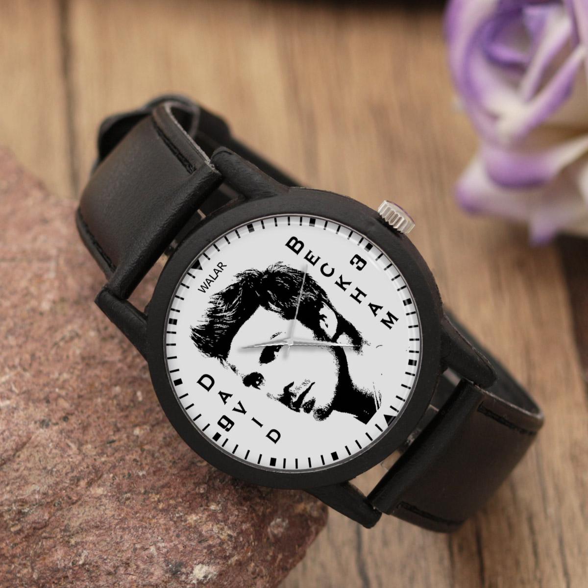 کد تخفیف                                      ساعت مچی عقربه ای مردانه والار طرح دیوید بکهام کد LF2181