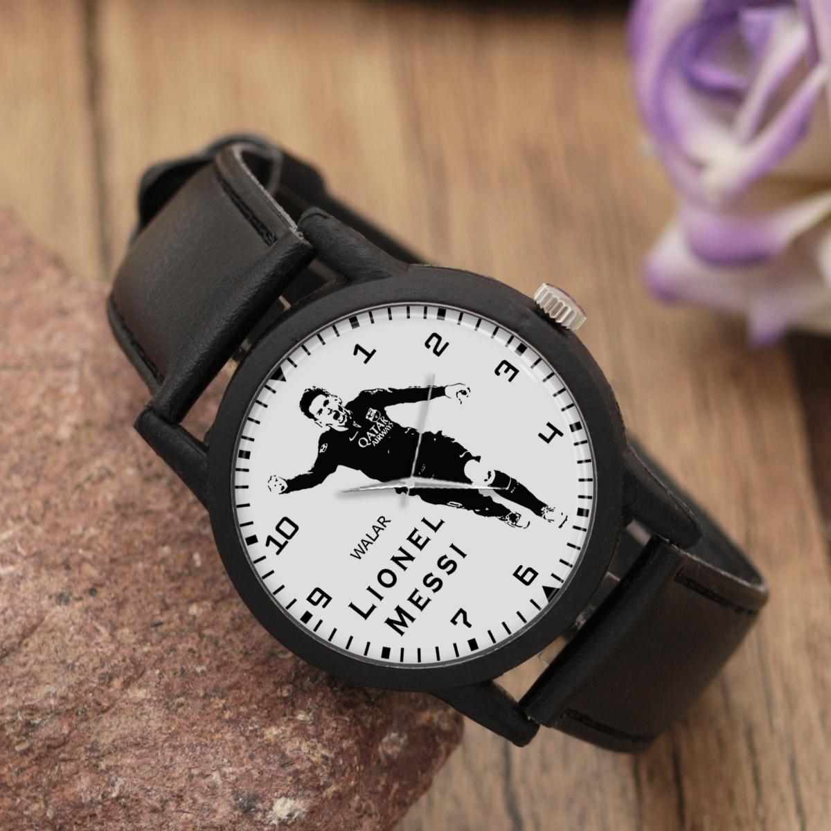 ساعت مچی عقربه ای مردانه والار طرح لیونل مسی کد LF2183              ارزان
