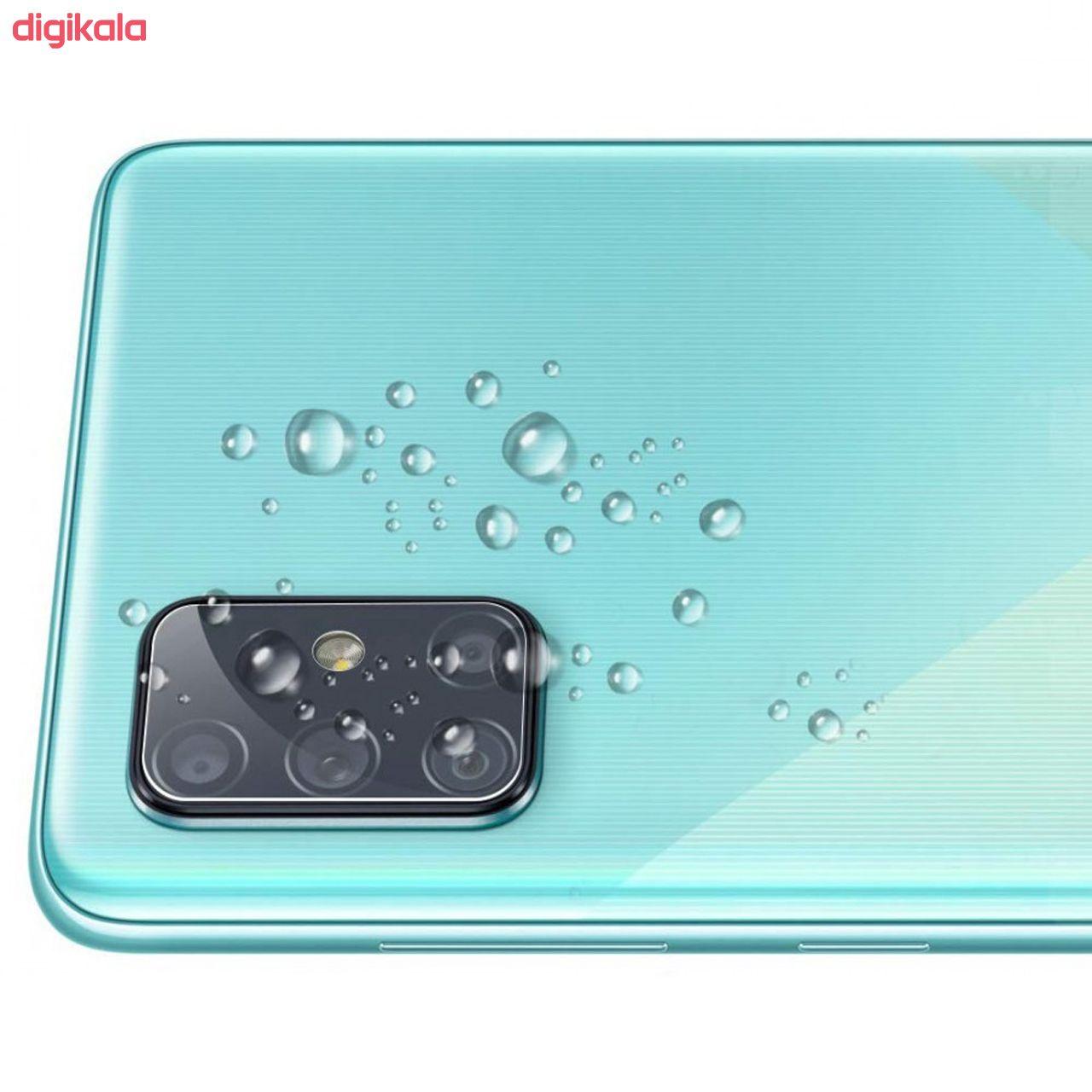محافظ لنز دوربین سیحان مدل GLP مناسب برای گوشی موبایل سامسونگ Galaxy A51 main 1 5