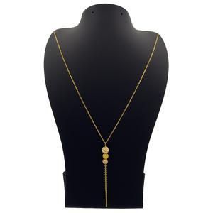 گردنبند طلا 18 عیار زنانه مانچو مدل sfg645