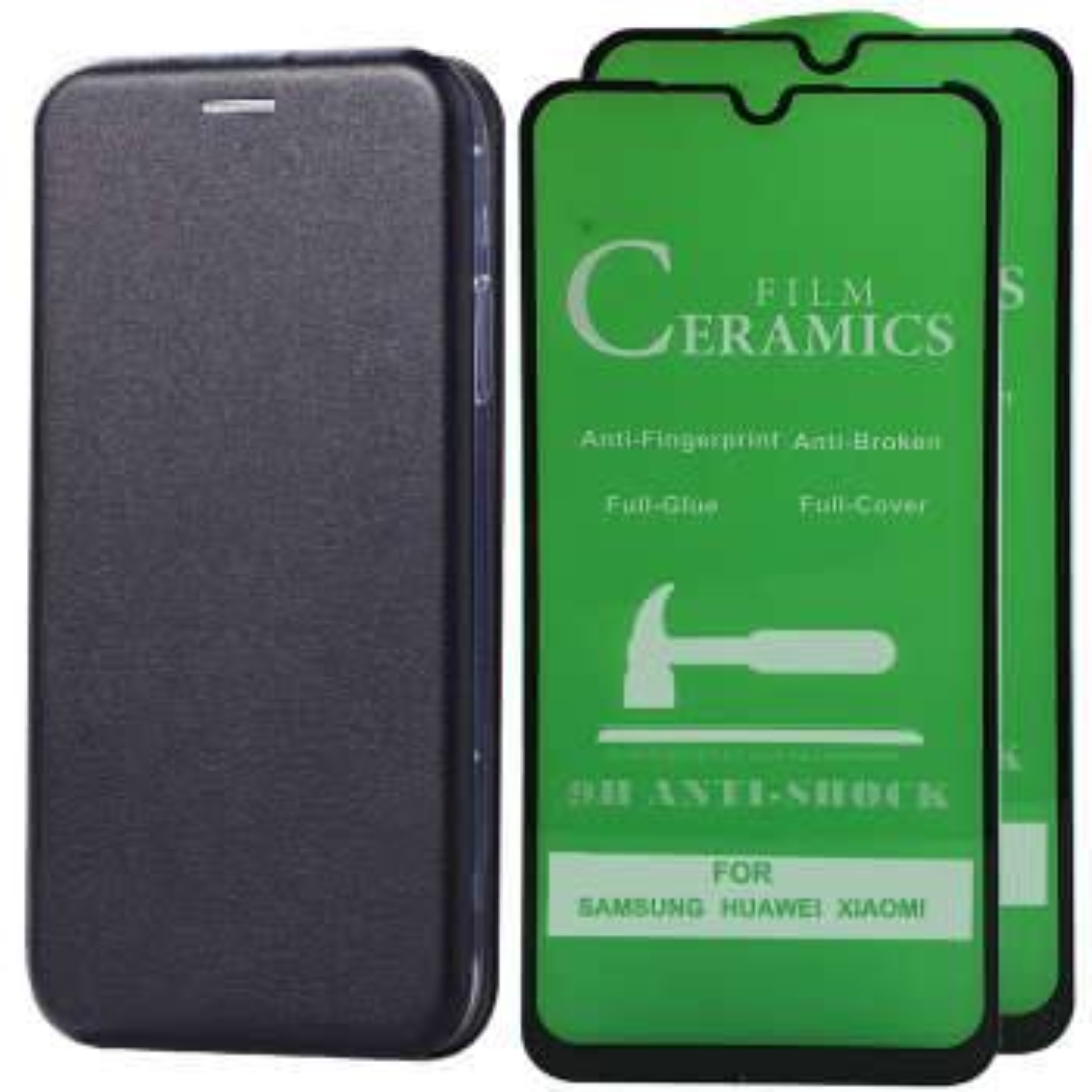 کیف کلاسوری اینفینیتی مدل INFCL2 مناسب برای گوشی موبایل سامسونگ GALAXY A50 به همراه 2 عدد محافظ صفحه نمایش