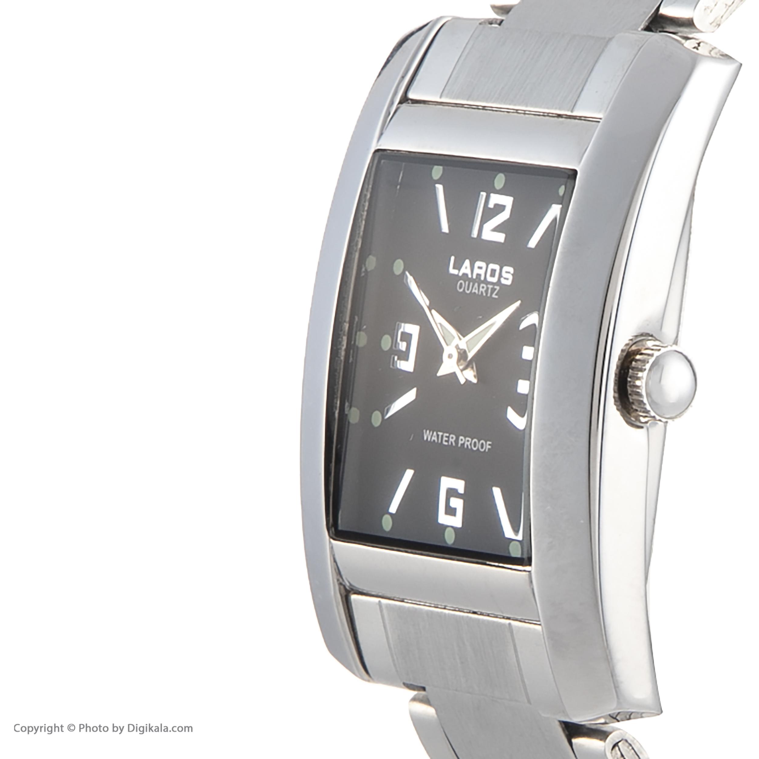 ساعت مچی عقربه ای لاروس مدل No 812-73335