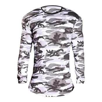 تی شرت آستین بلند مردانه طرح چریکی کد 2045