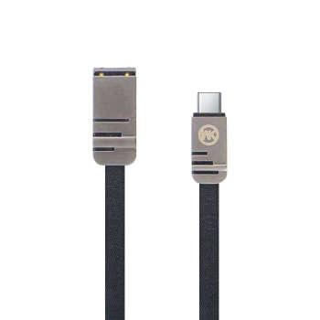 کابل تبدیل USB به USB-C دبلیو کی مدل WDC-83 طول 1 متر