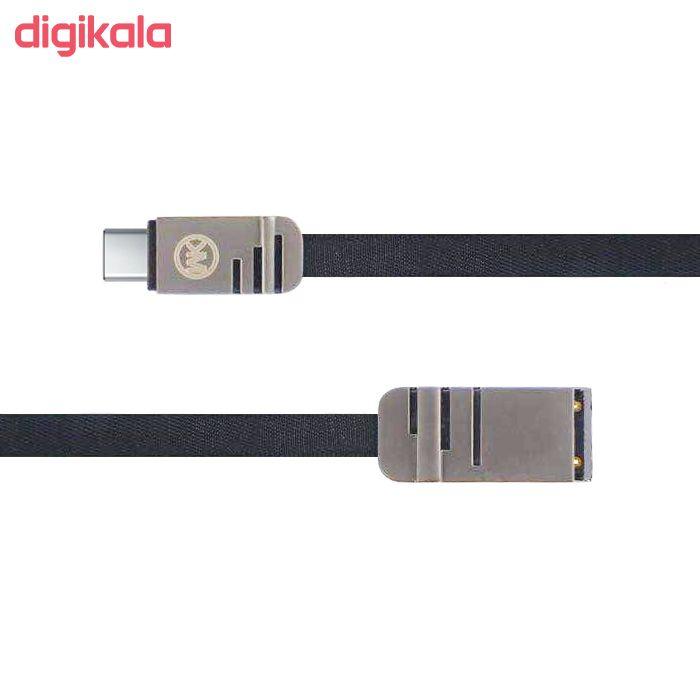 کابل تبدیل USB به USB-C دبلیو کی مدل WDC-83 طول 1 متر  main 1 1