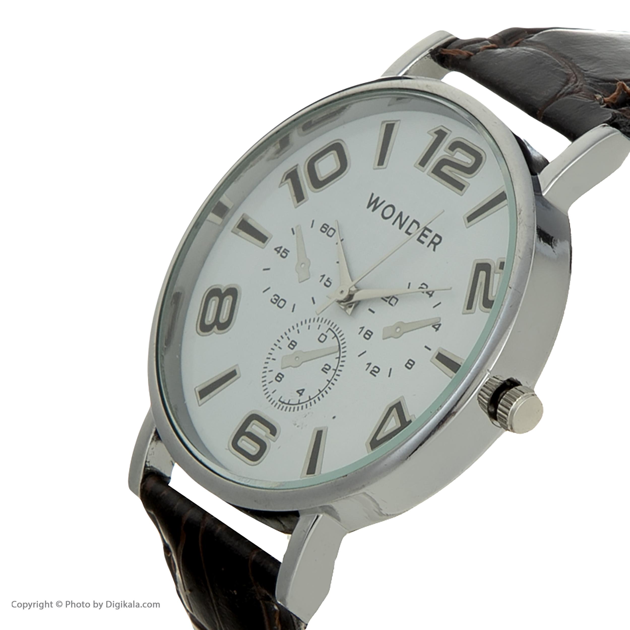 کد تخفیف                                      ساعت مچی عقربه ای مردانه واندر مدل A001