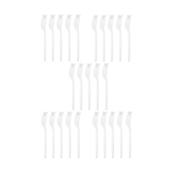 چنگال یکبار مصرف پیکنیک مدل MR14 بسته 25 عددی