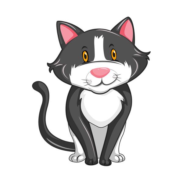 استیکر مستر راد طرح گربه مهربون کد 098