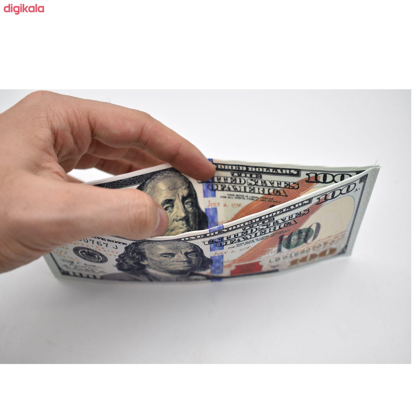 کیف پول طرح 100 دلار مدل cm100dola main 1 1