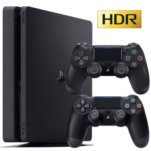 مجموعه کنسول بازی سونی مدل 2017 Playstation 4 Slim کد CUH-2116B Region 2  - ظرفیت 1 ترابایت
