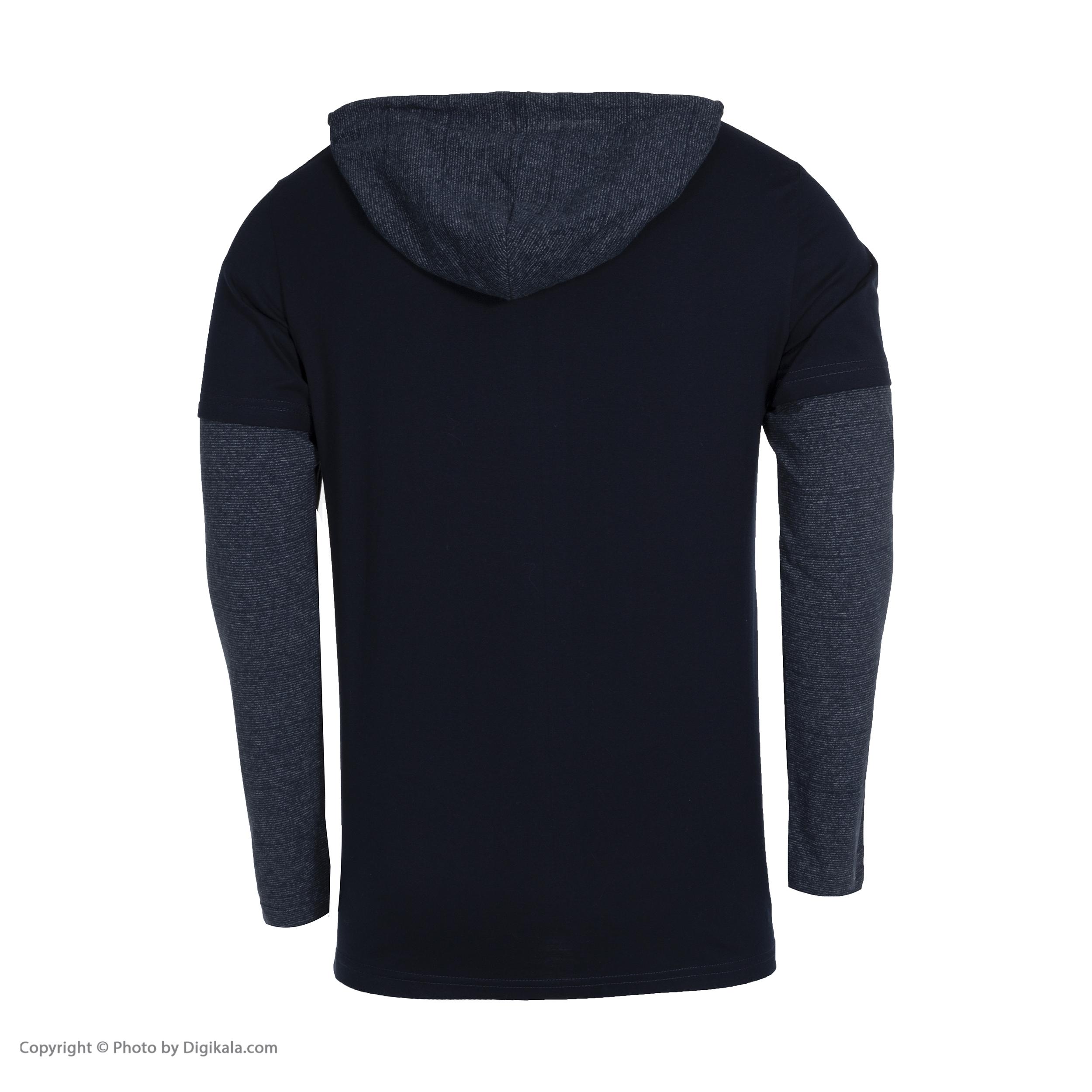 تی شرت آستین بلند مردانه باینت کد 354-2