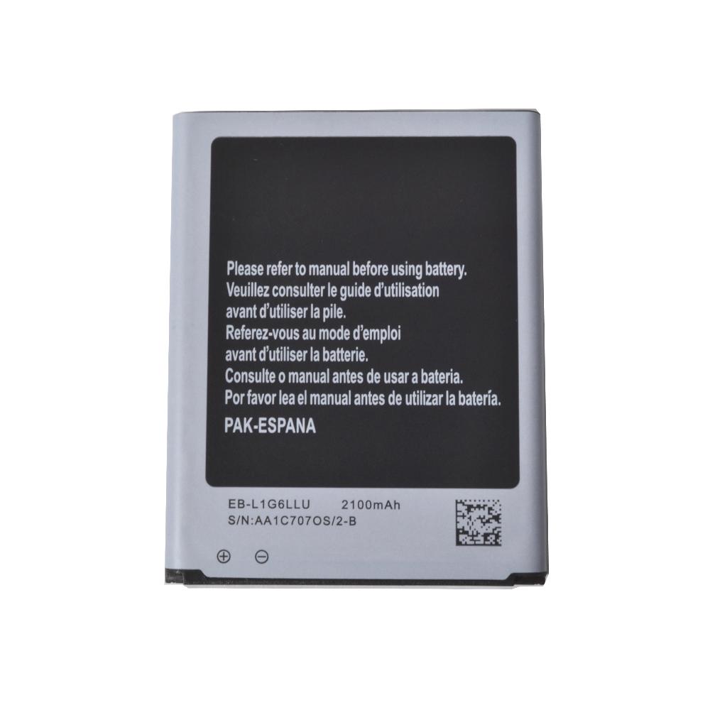 باتری موبایل مدل EB-L1G6LLU ظرفیت 2100 میلیآمپر ساعت مناسب برای گوشی موبایل سامسونگ Galaxy S3              ( قیمت و خرید)