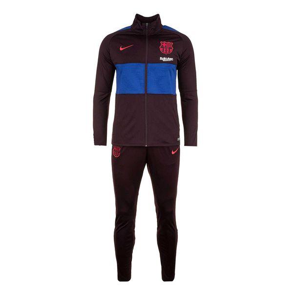 ست گرمکن و شلوار ورزشی مردانه طرح بارسلونا کد B2020
