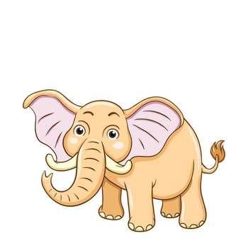 استیکر مستر راد طرح فیل مهربون کد 075