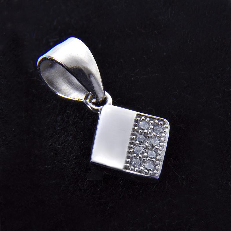 آویز گردنبند نقره زنانه بازرگانی میلادی کد PKR_004