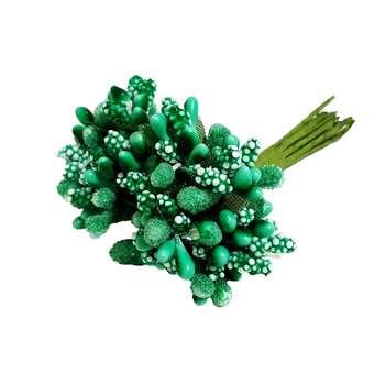 گل مصنوعی مدل parchami بسته 12 عددی