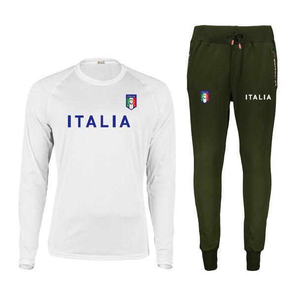 ست تیشرت و شلوار ورزشی مردانه پاتیلوک طرح ایتالیا کد 400070
