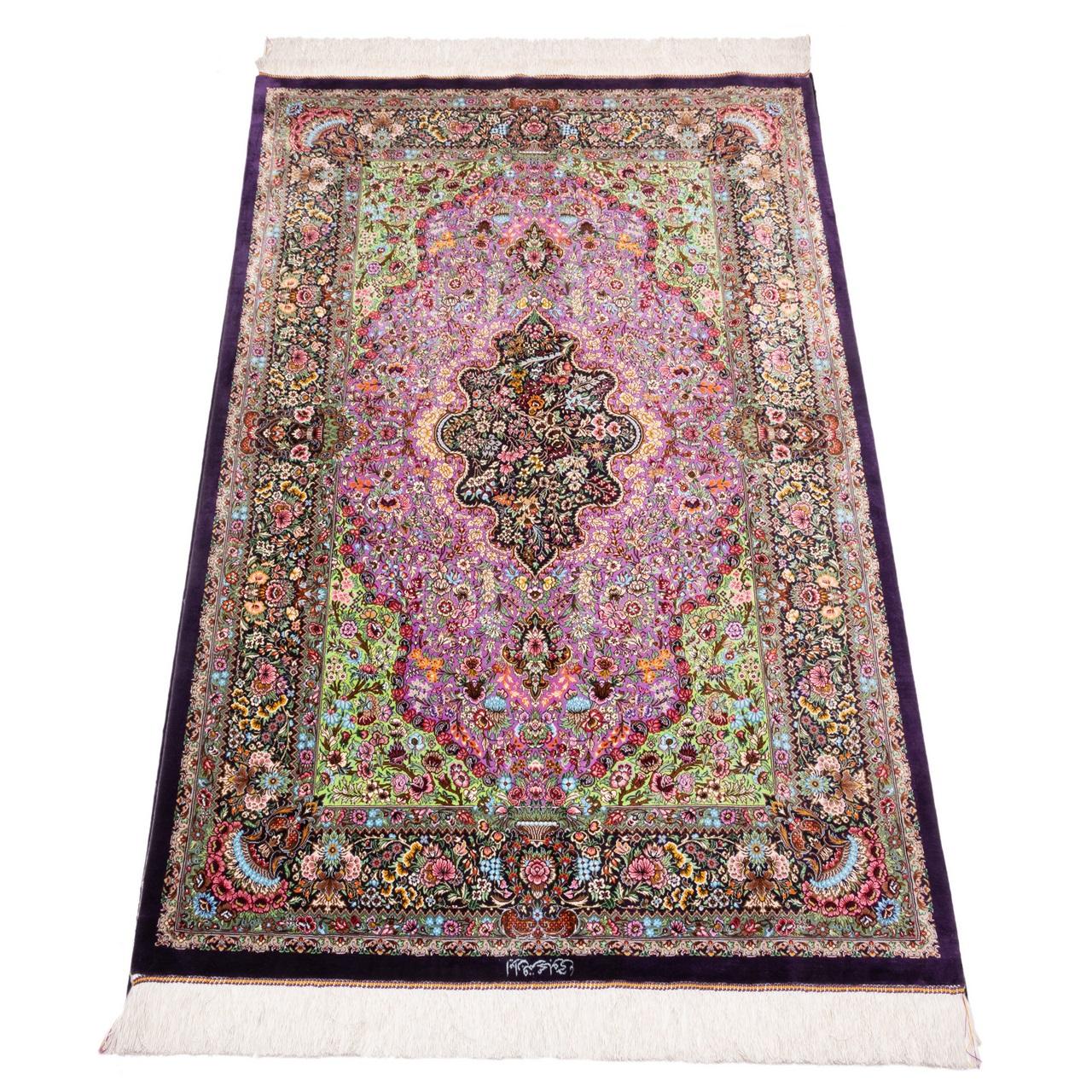 خرید                       فرش دستباف ذرع و نیم سی پرشیا کد 174426