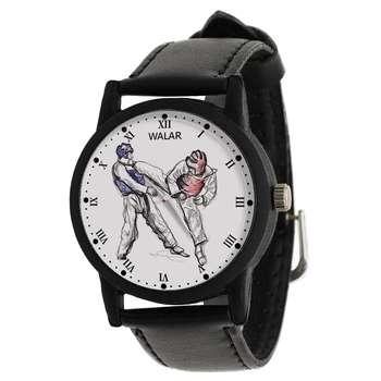 ساعت مچی عقربه ای زنانه و مردانه والار طرح تکواندو کد LF2209