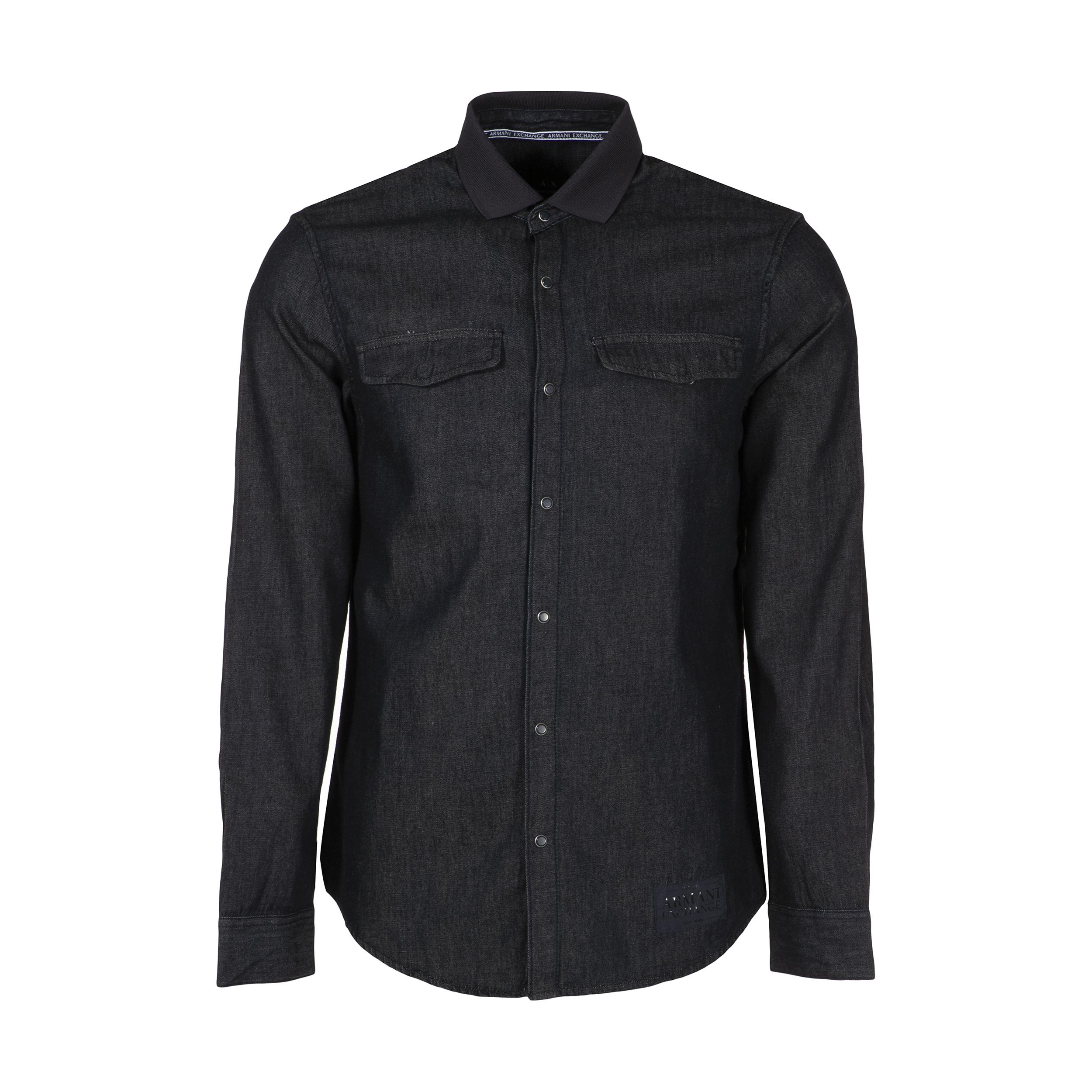 پیراهن مردانه آرمانی اکسچنج مدل 3GZC20Z1HYZ-1500