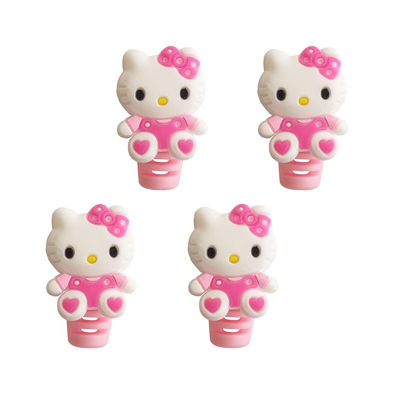 محافظ کابل طرح Kitty کد 2209 بسته 4 عددی              ( قیمت و خرید)