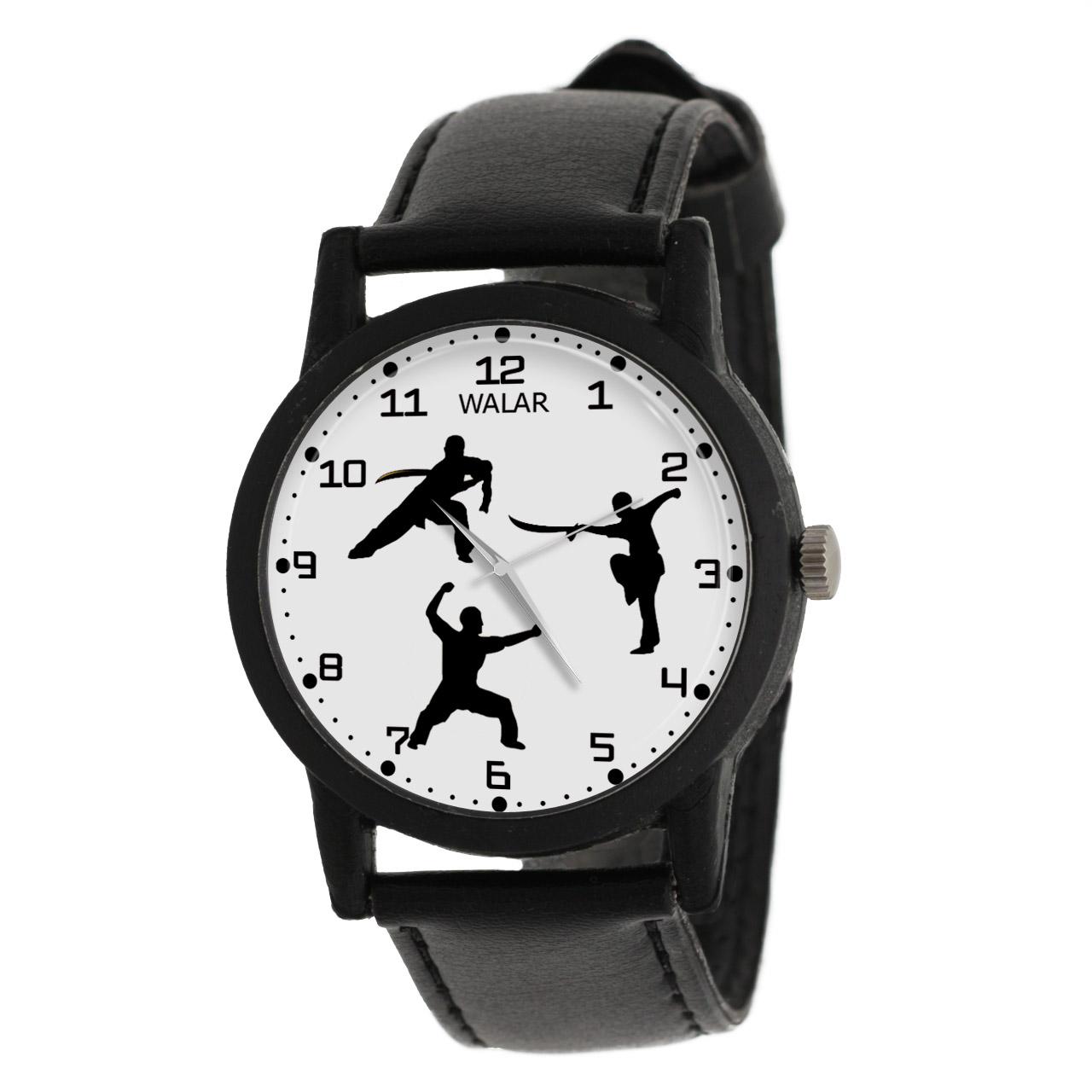 کد تخفیف                                      ساعت مچی عقربه ای مردانه والار طرح ووشو کد LF2219